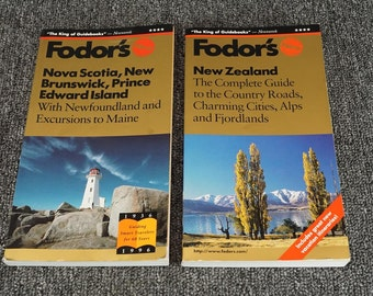 Collection Of Fodor's Guide Books 2 Book Set C. 1996