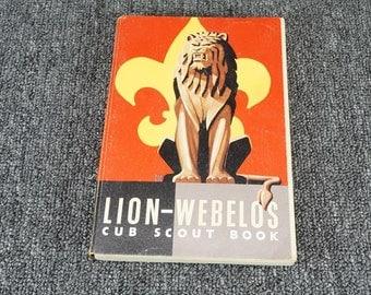 Lion-Webelos Cub Scout Book C. 1954