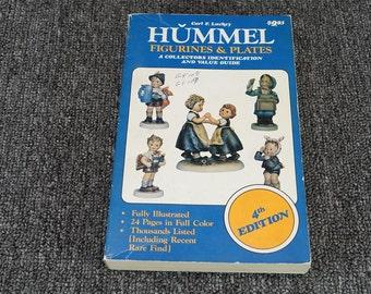Hummel Figurines & Plates A Collectors Identification and Value guide by Luckey