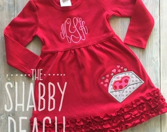 Valentine Love Letter Dress (includes monogram)