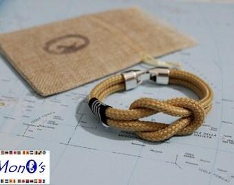 Bracciale nautico con chiusura in Zamak.... Nautical Bracelet with Zamak clasp