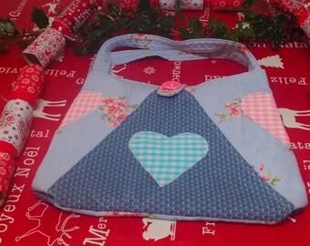 Tote Bag, Triangular folding bag, Handbag or shopper