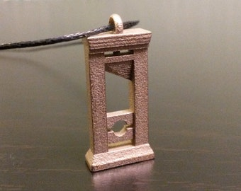 Guillotine Necklace - Steel