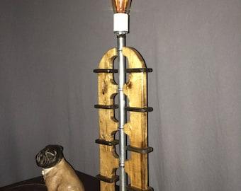 Paul Fuller Industrial Edison Lamp - Rustic Lighting - Vintage Style - Industrial Decor