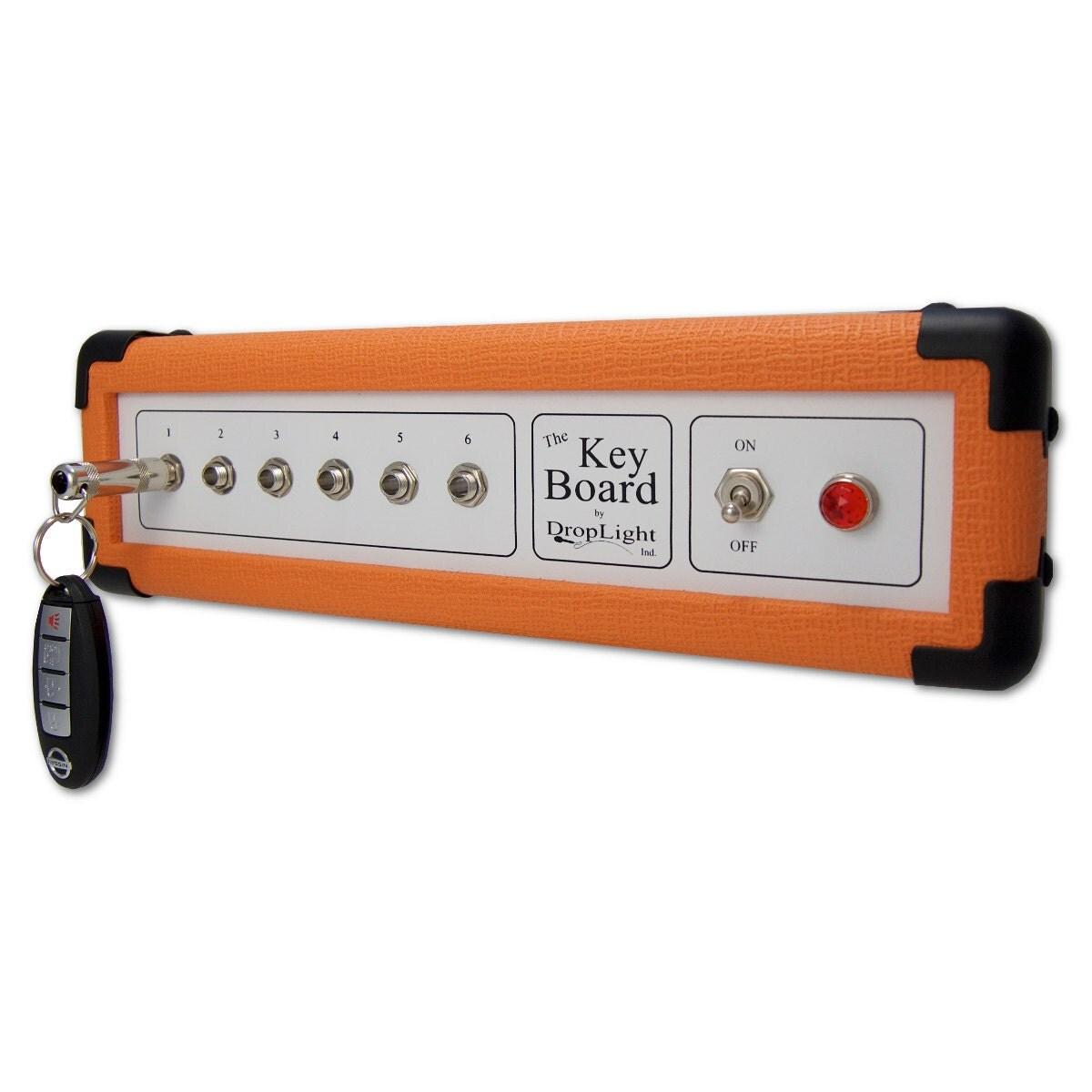 orange key holder wall mounted key holder by. Black Bedroom Furniture Sets. Home Design Ideas