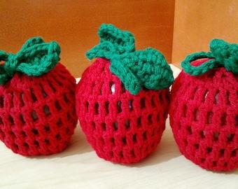 Crochet Apple Cozies