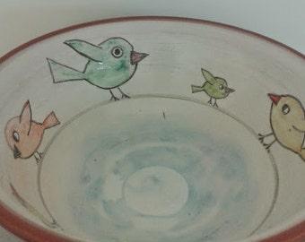Birds bowl/ Μπολ πουλάκια