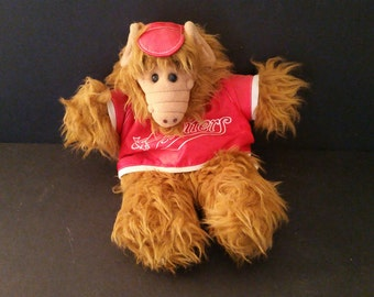 Vintage Orbiters Sports Alf Puppet Burger King Many Faces of Alf 1988