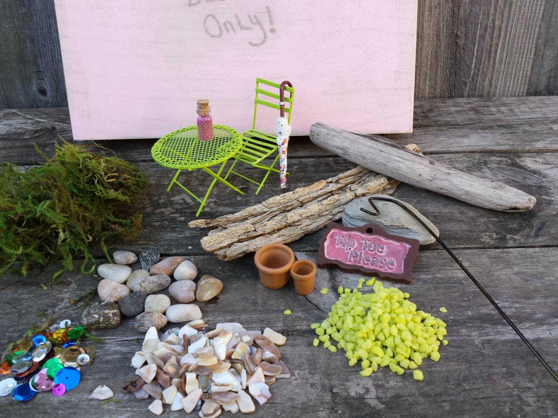 Fairy garden kit diy fairy garden kit mother39s day gift for Fairy garden kits