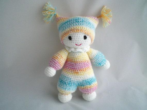 Amigurumi Toys For Babies : Crochet Baby Doll / Crochet Amigurumi Baby Doll / Super Cute