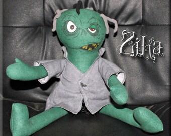 Zika the zombie doll