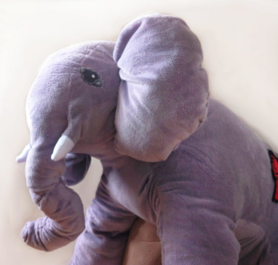 Giant Stuffed Elephant Huge Stuffed Elephant Big Elephant