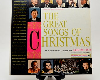 Vintage Christmas Album, The Great Songs of Christmas Album Two, Created Exclusively for Goodyear, 1962