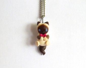 Custom Kitty Necklace