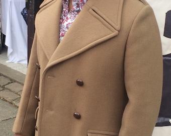 Mens vintage 1970's pea coat
