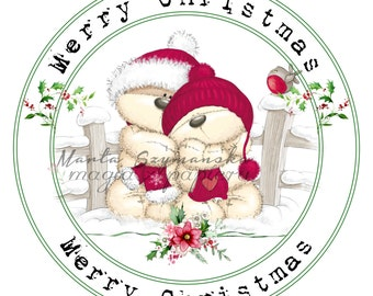 Christmas digital stamps ( 3 )