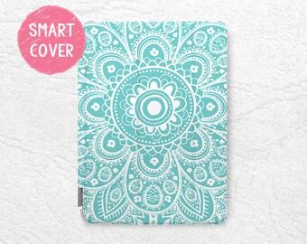Aztec Floral pattern Smart Cover for iPad Mini 4, iPad mini 2 retina, iPad Air, iPad Air 2, tribal case for iPad Pro, New iPad 9.7 2017 -P24
