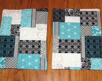 Quilted Cloth Hotpads / Pot Holders