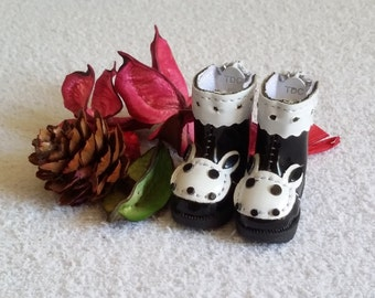 SALE * boots black for Blythe and Pure neemo