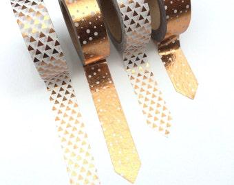 Rose Gold Decorative Washi Tape