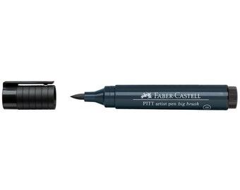 PITT Big Brush Pen - Dark Indigo 157 - Great for Bible Journaling - Artist Pen