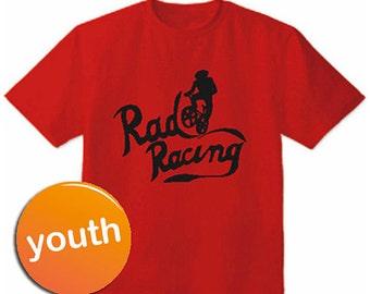 Youth Rad Racing 1986 BMX Movie Cru Jones Red kids T-Shirt