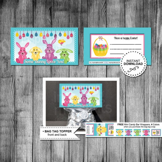 Bunny easter candy bag topper bag tag favor tags classroom bunny easter candy bag topper bag tag favor tags classroom gifts easter gift easter bunny church printable download from negle Gallery