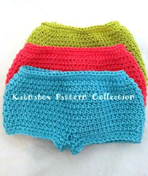 Easy Doll Crochet Patterns For Beginners : Crochet 18 Inch Doll Simple Panties Pattern KC0245 Beginner