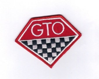 Vintage GTO Car Patch