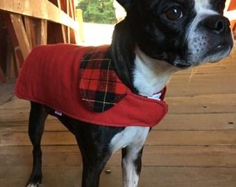 Quilted Doggie Coat