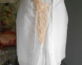 Pretty White Cotton 1930's Bloomers/Tap Pants