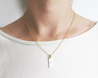 CA chain turquoise + rectangle