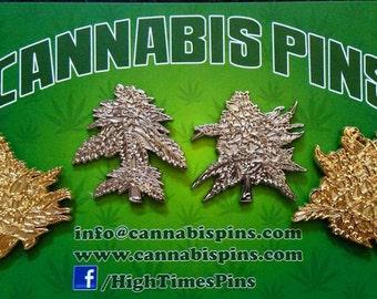 Cannabis Pins Full 9th Harvest set- All 8 pins - Raw pin set and hard enamel pin set- Weed,Pot, Dank, 420,Lapel Pins. Rare and collectible