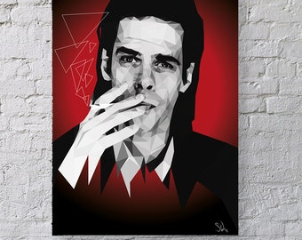 Red Right Hand - Nick Cave Print
