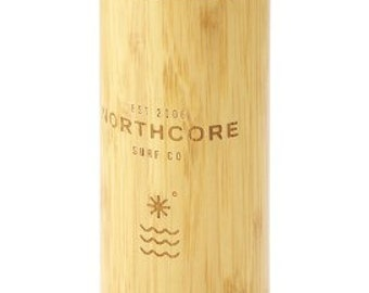Northcore BambooStainless Steel Thermos Flask 360ML