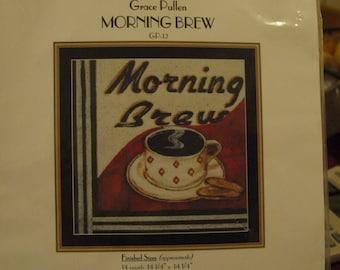 Morning Brew  Cross Stitch Chart