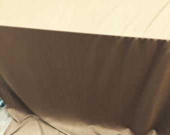 60 inch w brown textured spandex …