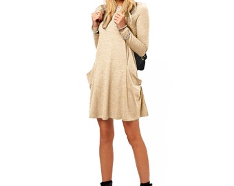 Tunic with large pockets