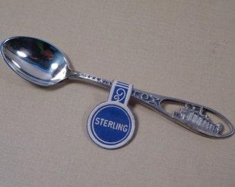 Mt Vernon Miniature Sterling Silver Spoon in Original Box