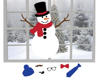 Do You Want to Build a Snowman? Customizable Decal, Great Project for Entire Family!