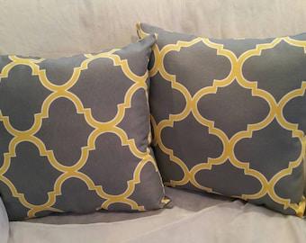 Modern pillow design 16 x 16
