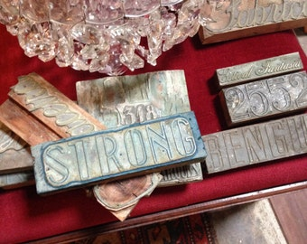 antique stamps for textiles