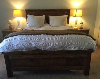 Custom Farmhouse Bed