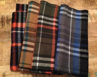 Tartan Plaid Reversible Infinity Scarf LIMITED TIME!