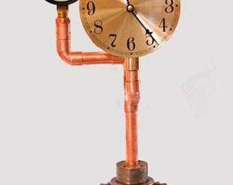 Pressure gauge clock