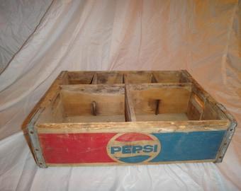 Wooden Pepsi Crate