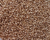 Toho 15/0 Japanesse Seed Beads TR-15-PF551 Permanent Finish - Galvanized Rose Gold 5g/10g/30g