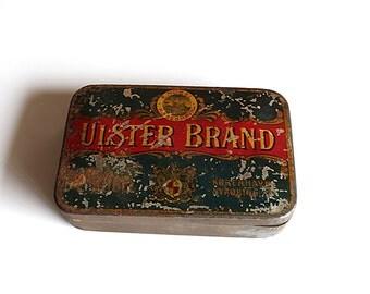 Old Vintage tin box
