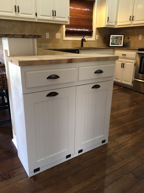28 Double Trash Bin Cabinet With 1000 Ideas About