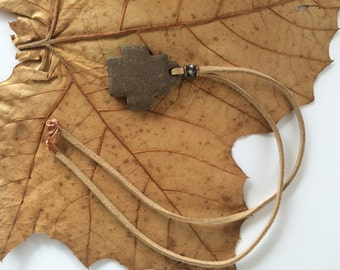 Clay Cross Necklace